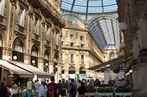 Foto de centro comercial en Milán