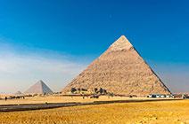 Foto de las Pirámides de Giza en El Cairo