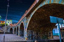 Foto del puente de Todos los Santos en la ciudad de Cuenca