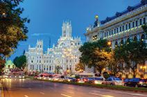 Foto de la gran vía de Madrid