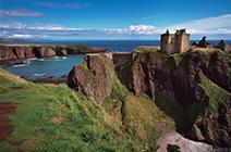 Foto de castillo en tierras altas de Ecocia