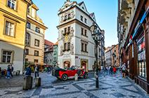 Foto del centro de la ciudad de Praga