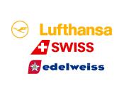 Lufthansa Swiss Edelweiss logo