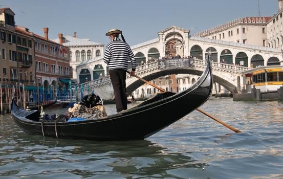 Canales de Venecia (Italia)