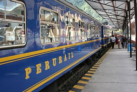 Tren Vistadomé a Machu Picchu